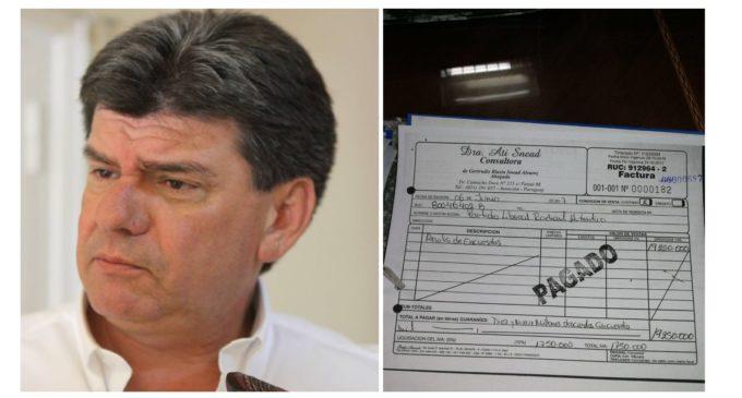 Acusan a Efraín Alegre de utilizar fondos propios del PLRA para hacer proselitismo