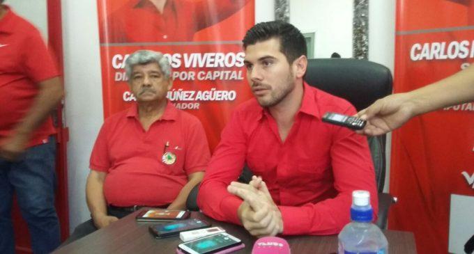 Carlos Viveros Cartes dice que una de sus propuestas será recortar salarios de parlamentarios