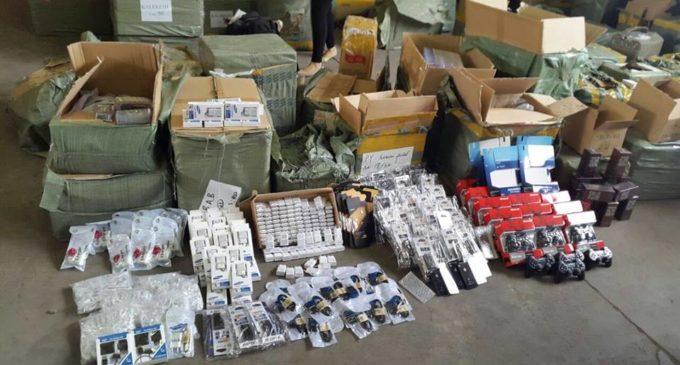 DINAPI ya ha incautado casi US$ 30 millones en productos de contrabando en lo que va del año