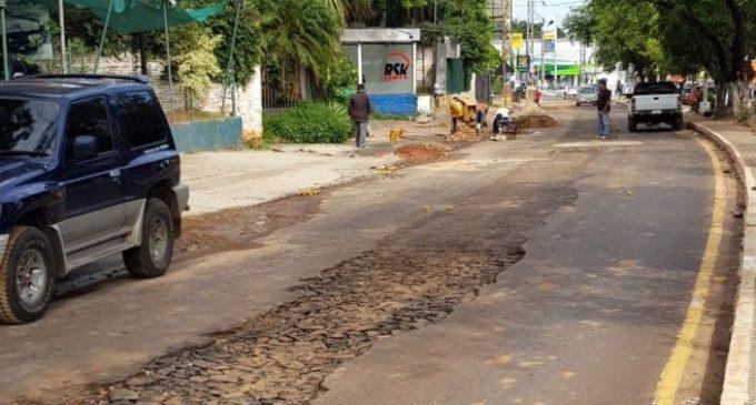 ESSAP finaliza obras y habilita tramo de la avenida Mariscal López
