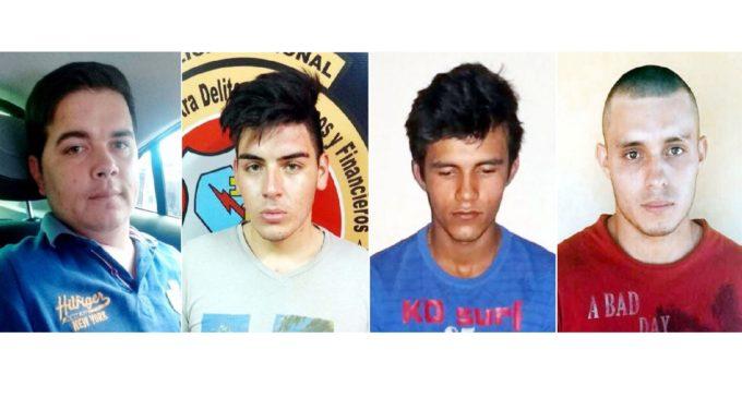Caso secuestro en PJC: Presuntos implicados fueron enviados a prisión preventiva