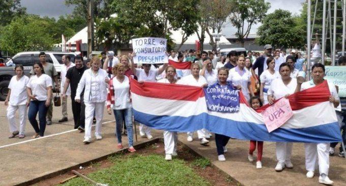 Anuncian huelga general en el Hospital de Clínicas desde el próximo lunes