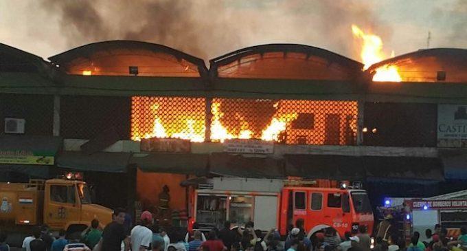 Aguardan informe pericial sobre incendio en el Mercado de Abasto