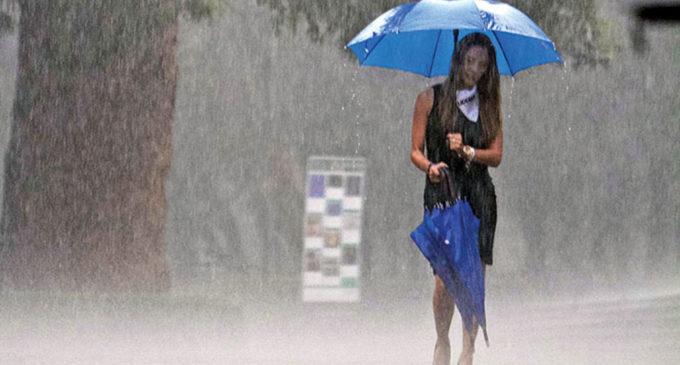 Anuncian miércoles con lluvias y tormentas