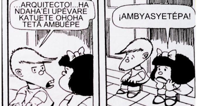 Ya se encuentran a la venta las historietas de Mafalda en guaraní