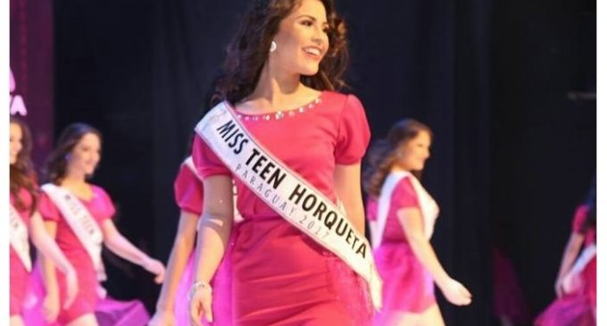 """Miss Teen Horqueta: """"No esperaba que mi presentación tenga tanta repercusión"""""""