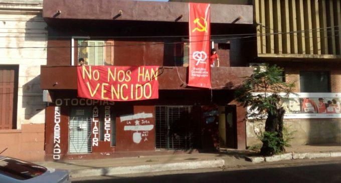 Partido Comunista denunciará ataques fascistas a su local
