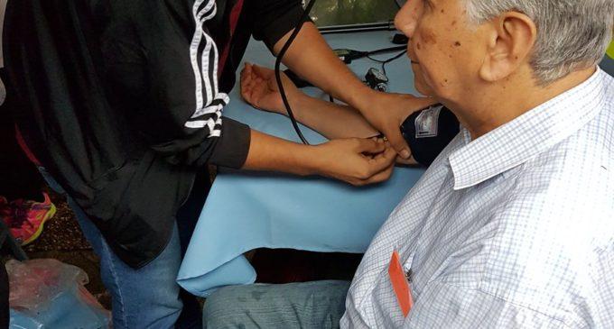 Se realizan controles contra la diabetes en el Parque de la Salud de IPS