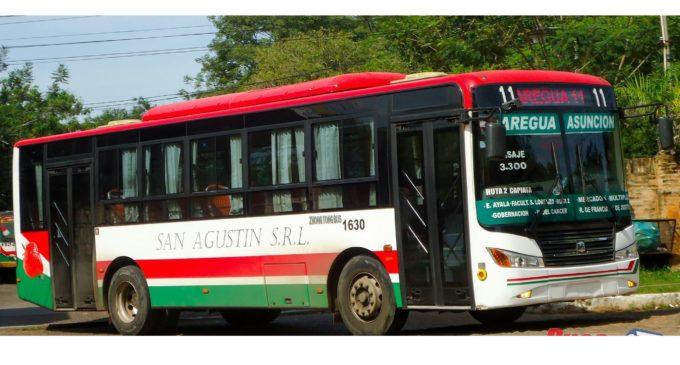 """Choferes de la línea 11 """"San Agustín"""" anuncian manifestación"""