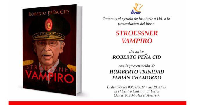 """Lanzan el libro """"Stroessner Vampiro"""""""