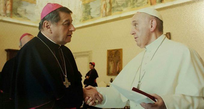"Papa Francisco: ""¡A la Virgencita de Caacupé cuídenmela, cuídenmela!"""