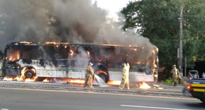 Bus incendiado poseía inspección vehicular, sostiene titular de Cetrapam