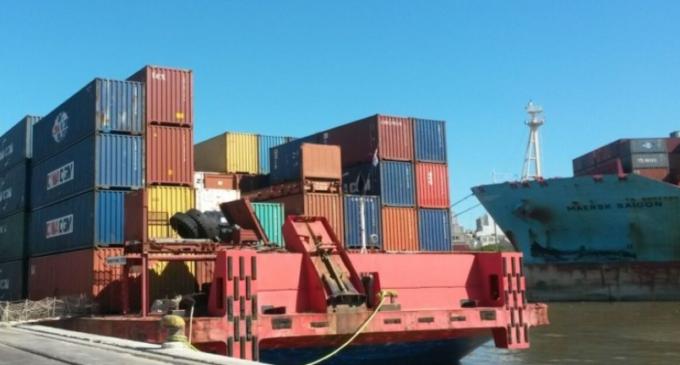 No destraban crisis y buques paraguayos siguen varados en Montevideo