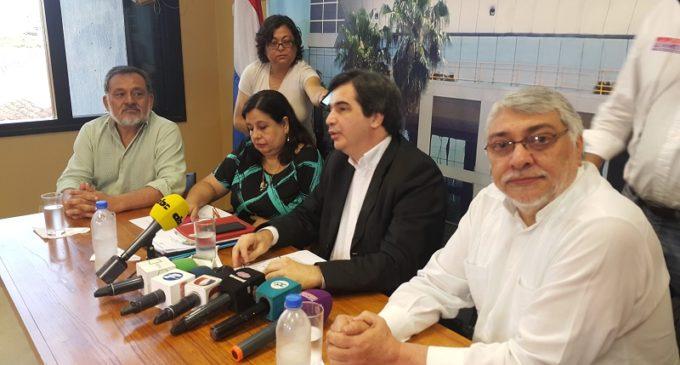 Sin novedades, Frente Guasu inscribió lista de senadores