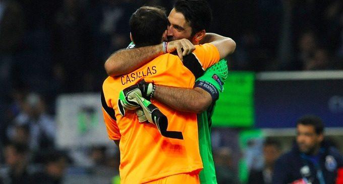 El emotivo mensaje de Casillas para Buffon