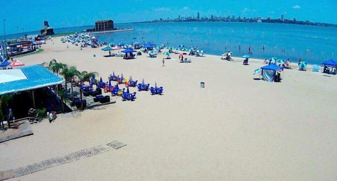 Intensifican trabajos en las playas de Encarnación