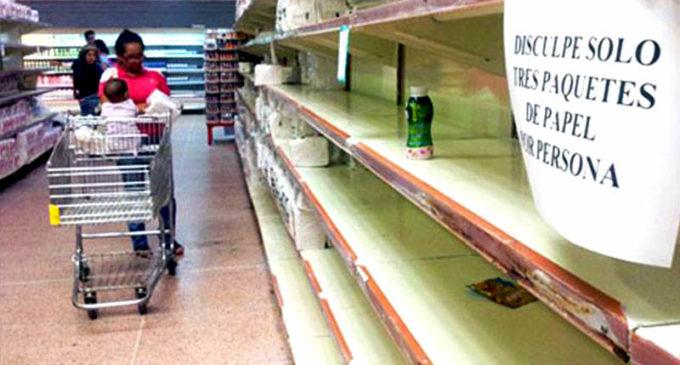 Producción de alimentos en Venezuela solo alcanza al 30% de su población