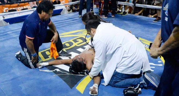 Joven boxeador no aguantó los golpes y murió