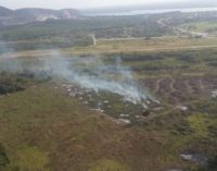 Ataque en el Chaco: Camuflados quemaron pastizal sin afectar las maquinarias