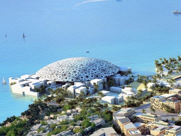 Inauguración del nuevo museo Louvre en los Emiratos Árabes Unidos