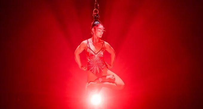 """""""Luna roja"""" tiene su propio acto en Cirque Du Soleil"""