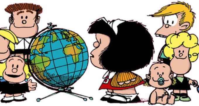 Desde hoy Mafalda habla guaraní