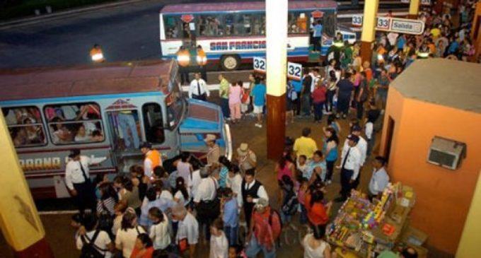 En la víspera de Caacupé pasarían más de 120 mil pasajeros por la Terminal de Asunción