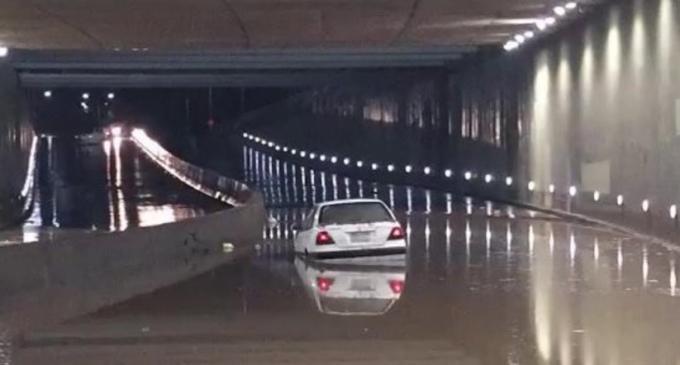 Basura provocó inundación del túnel, dice MOPC
