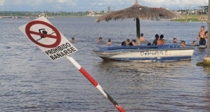 Costanera de Asunción: Coliformes fecales superan casi 300 veces más de lo permitido