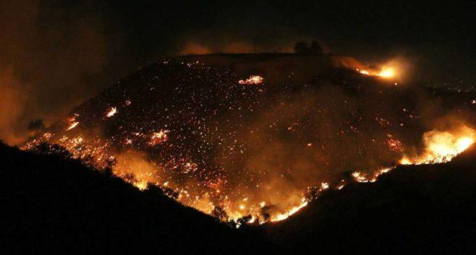 Hollywood sufre su propia película dramática con incendio en Los Ángeles