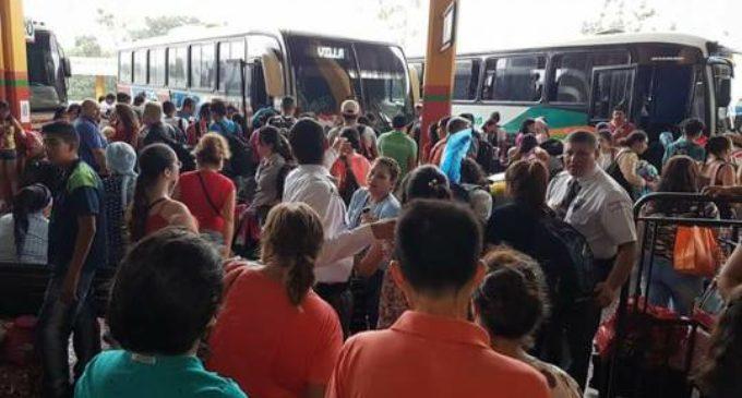 NAVIDAD: Más de 100.000 personas pasaron por la terminal