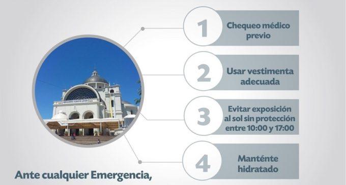 Caacupé: Recomendaciones del Ministerio de Salud para los peregrinantes