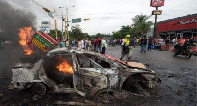Toque de queda en Honduras tras la violencia luego de las elecciones