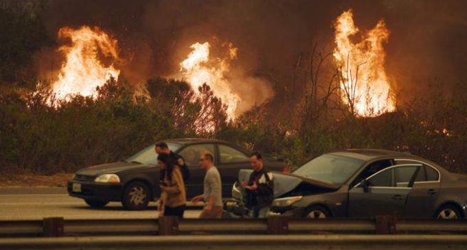 Más de 200.000 afectados tras los incendios en California