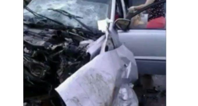 Denuncian que móvil estatal protagonizó accidente que dejó dos heridos graves