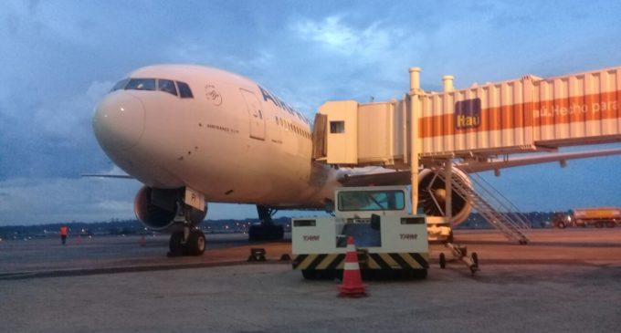 Avión de Air France saldrá esta tarde del Silvio Pettirossi rumbo a Europa