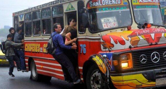 Servicio de transporte público operará al 60% el día de las elecciones