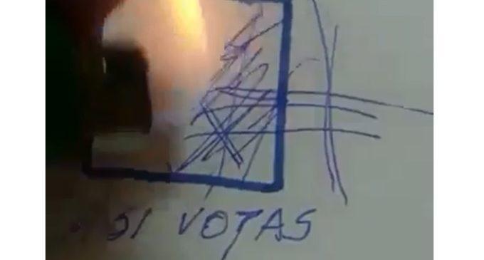 ¿Quieren utilizar en las votaciones bolígrafos con tinta borrable?
