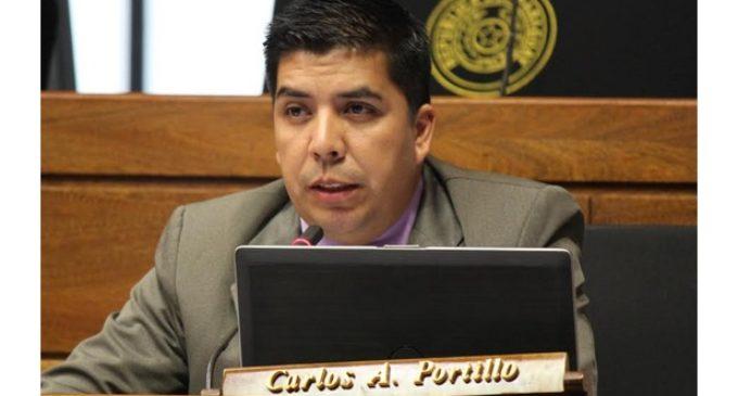 """Diputado Carlos Portillo: """"Vas a querer ascender y ahí te vas a recordar de mí"""""""