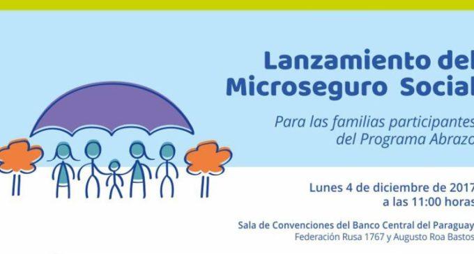 Presentarán microseguro para familias del Programa Abrazo