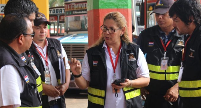 Caacupé: Los horarios de buses se liberarán desde esta tarde