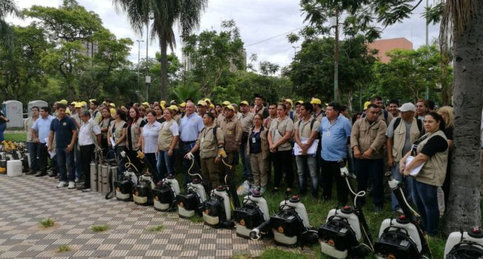 Movilización ambiental contra el mosquito Aedes Aegypti