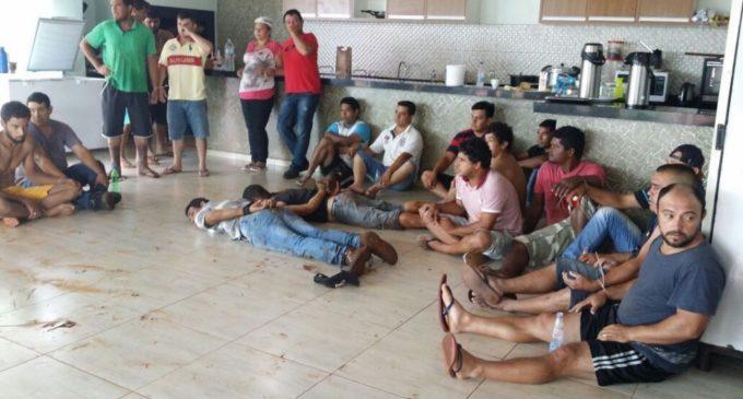 Casi 30 detenidos tras enfrentamiento en Amambay