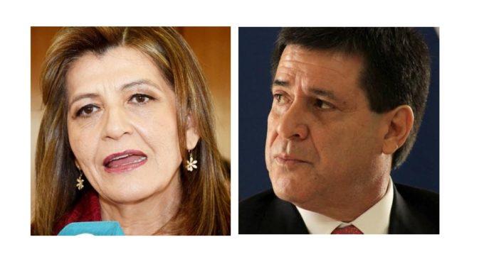 """Blanca Ovelar, sobre gestión de HC: """"Que gerentes manejen desde un gobierno paralelo es causal de juicio político"""""""