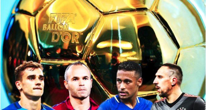 Estos son los futbolistas que hubiesen ganado el Balón de Oro si no existían Lionel Messi ni Cristiano Ronaldo