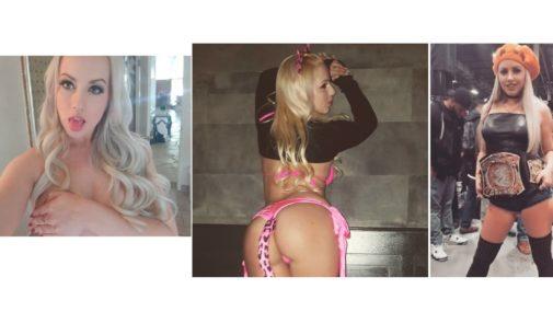 Lexi Belle, la estrella porno que quiere ser luchadora de la WWE