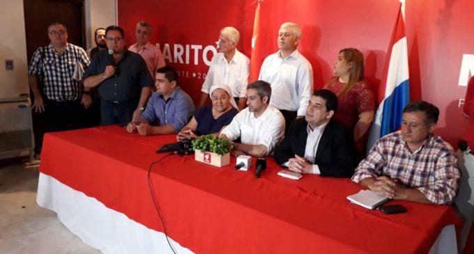 Iglesia 'Pueblo de Dios' se suma al proyecto presidencial de Mario Abdo Benítez