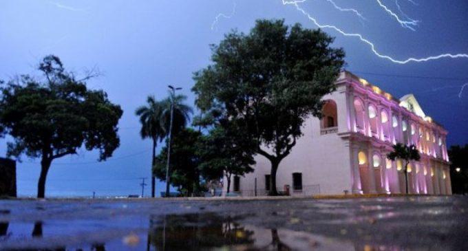 Anuncian tormentas en 13 departamentos para esta tarde