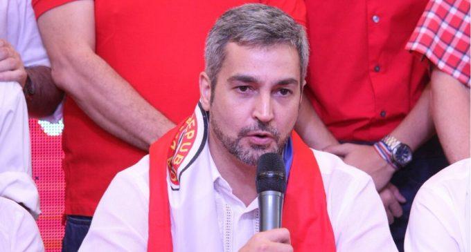 """Mario Abdo Benítez: """"Hoy se demostró que el coloradismo no se vende"""""""