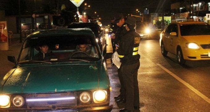 Más de 300 conductores alcoholizados fueron sacados de circulación durante fin de semana largo
